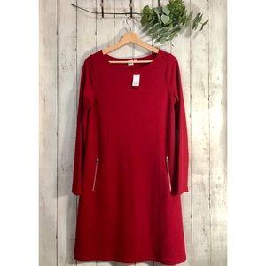 NEW! GAP Long Sleeves A-Line Knit Dress